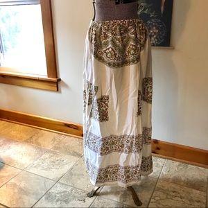 70s Vintage Hippie Skirt